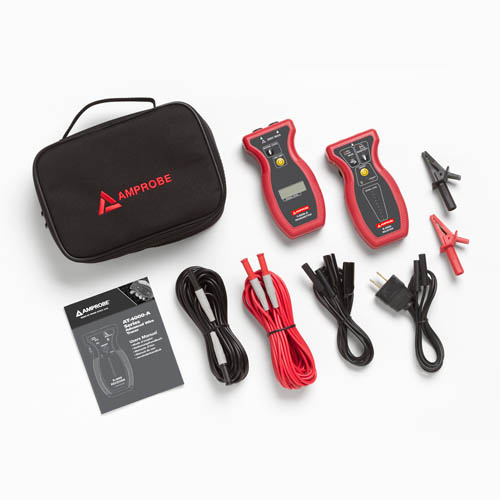 Amprobe AT-4001-A Advanced Wire Tracer with Transmitter, Receiver and Soft Case