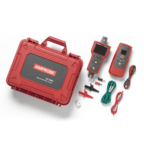 Amprobe AT-7020 0-600 V Advanced Wire Tracer Kit with Smart Sensor and LCD Display