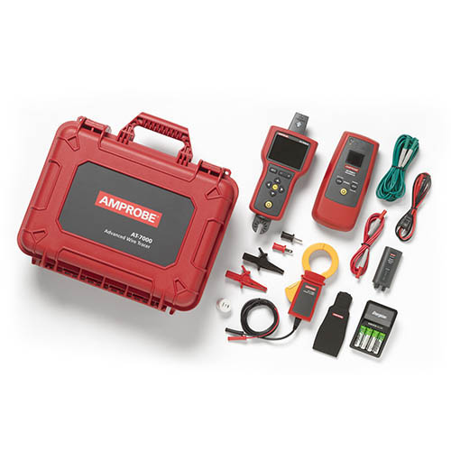 Amprobe AT-7030 0-600 V Advanced Wire Tracer Kit with Smart Sensor, Display and Battery Pack