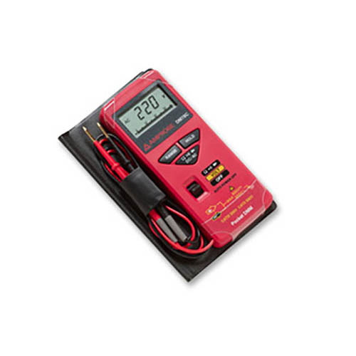 Amprobe DM78C Compact Digital Multimeter, 5 Functions/16 Ranges, 3200 Count Display with Accessories (In Sleeve)
