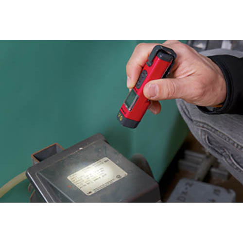 Amprobe IR-450 3-in-1 Infrared Pocket Thermometer, Laser Pointer, and Flashlight  (In Action)
