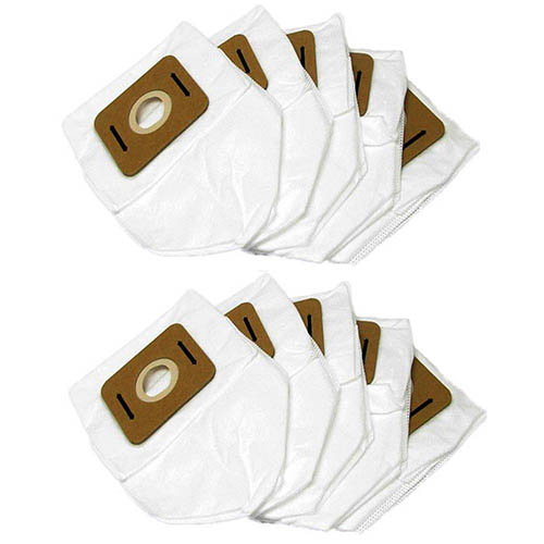 Atrix VACBP6-10P Backpack HEPA Filter Bags, 10-Pack