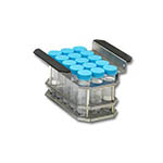 Click for larger image of the Benchmark Scientific B2000-4-T500 Test Tube Rack for 15 x 50 ml Tubes