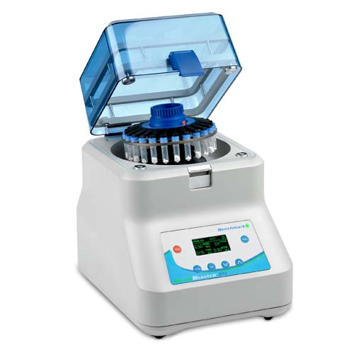 Benchmark Scientific D2400 BeadBlaster Microtube homogenizer, up to 24 samples, programmable, 115V