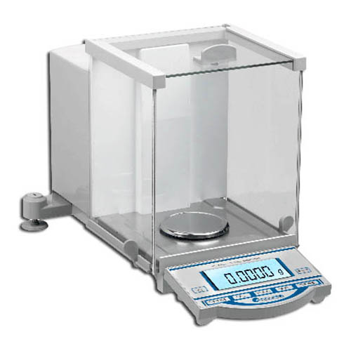 Benchmark Scientific W3100-120-E Accuris Analytical Balance, 120g, Readability: 0.0001g, 230V plug