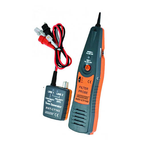 Besantek BST-CT103 Cable Tracer, Filter Probe, and Tone Generator (RJ11 and RJ45)