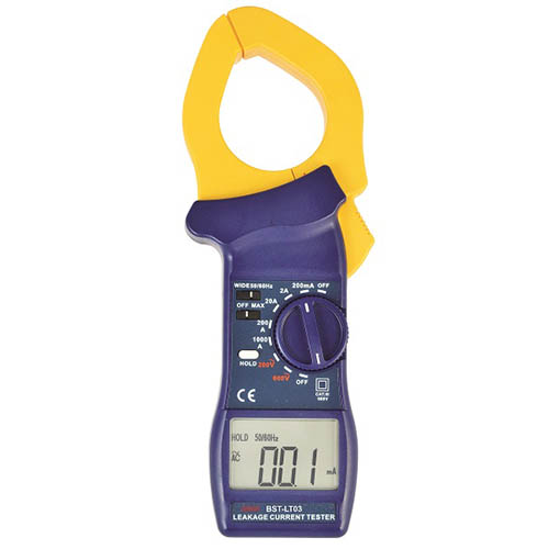 Besantek BST-LT03 AC Leackage Clamp Meter, AC 200V / AC 600V (0.1V/1V Resolutions)