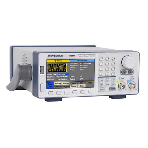 BK Precision 4055B 60 MHz Dual Channel Function/Arbitrary Waveform Generator (Right View)