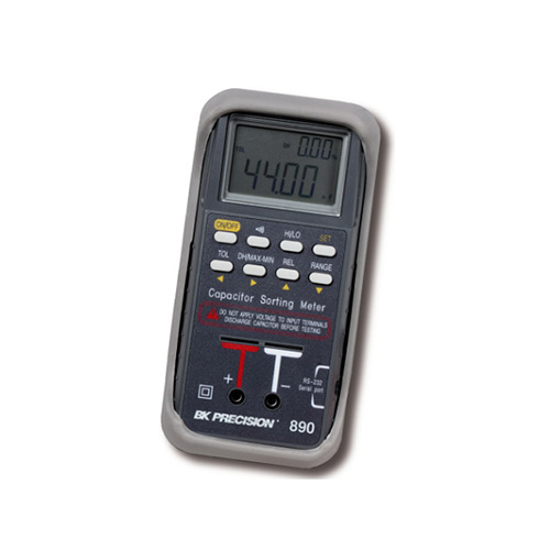 Bk Lcr Meter : Bk precision capacitor sorting meter at the test
