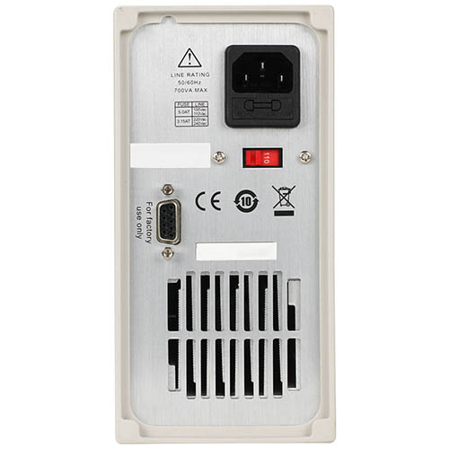 BK Precision 9111 Programmable Multi-Range Single-Output DC Power Supply, 60V/8A, 180W, 120VAC Line Input (Back)