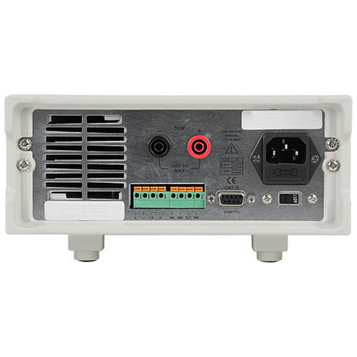 BK Precision 9123A-220V Programmable Single-Output DC Power Supply with RS232 and GPIB, 30V/5A, 220VAC Line Input (Back)