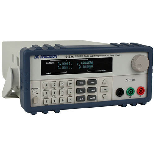 BK Precision 9123A-220V Programmable Single-Output DC Power Supply with RS232 and GPIB, 30V/5A, 220VAC Line Input