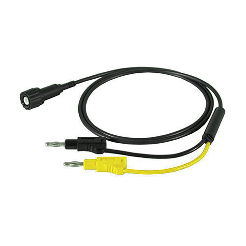Cal Test CT2435-200-5 50 Ohm BNC male to stacking 4mm banana plug cable, 200cm, Green, Qty 10