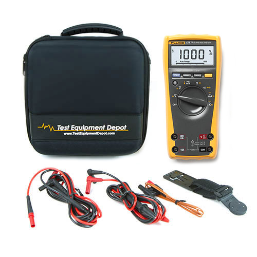 Fluke 179-TL224-TPAK-TEC25 Depot Deal, TRMS Multimeter, Test