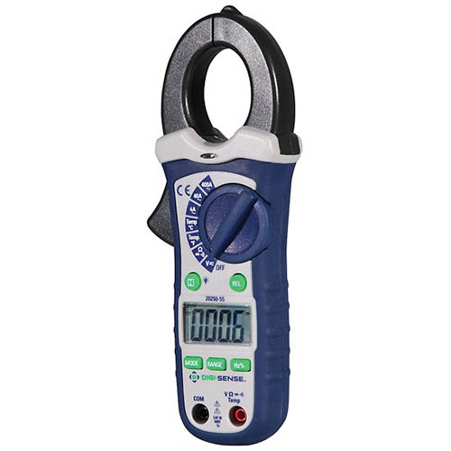 20250-55 Auto Ranging AC Clamp Meter (Left-angle)