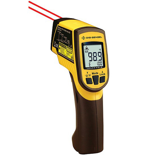 Digi-Sense 37803-95 Dual-Laser Infrared Thermometer With
