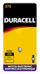 Duracell D376PK Silver Oxide Watch Battery 1.5V - Click here for product information page