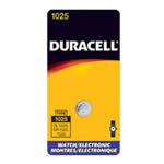 Duracell DL1025BPK Lithium Battery Size 1025 3.0V Watch - Click here for product information page