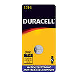 Duracell DL1216BPK Lithium Battery Size 1216 3.0V Watch - Click here for product information page