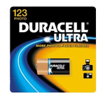 Duracell DL123ABPK Lithium Battery Size 123 3.0V Photo - Click here for product information page