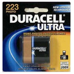 Duracell DL223ABPK Lithium Battery Size 223 3.0V Photo - Click here for product information page