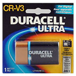 Duracell DLCRV3BPK Duracell Ultra Lithium Battery Size CR-V3 3.0V  - Click here for product information page