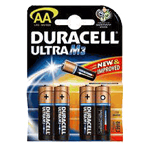 Duracell MX1500B8 Duracell Ultra Alkaline Size AA 1.5V 8 Pack - Click here for product information page