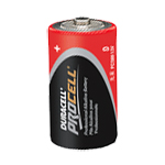 Duracell PC1300 Procell Alkaline Size D 1.5V - Click here for product information page
