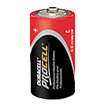 Duracell PC1400 Procell Alkaline Size C 1.5V - Click here for product information page