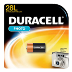 Duracell PX28LBPK Lithium Size 28L 6.0V Photo/Electronic - Click here for product information page
