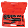 Eclipse 902-482 Hydraulic Knockout Punch with Swivel Head and Type C punch/die sets