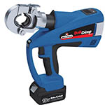 Click for larger image of the Eclipse 902-484 Quick Crimp Battery Powered Hex Crimping Tool with Die Sets