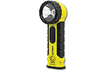 Eclipse ATEX-RA2 Zone 0 Right Angle Flashlight, Certified II 1 G Ex ia IIC T4 Ga, Mining Certification I M1 Ex ia I Ma, UL & ATEX Approved, 210 Lumens