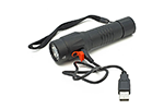Eclipse HV-FL9R USB Rechargeable Submersible Tactical Flashlight, 8Hz Defense Strobe, 900 Lumens LED