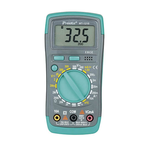 Eclipse MT-1210 Value Digital Multimeter with Backlight and Large Easy to Read Display