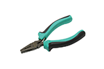 "Eclipse PM-731 Mini Linemans' Pliers, 4.5"", Made from Carbon Steel S45C Forging, Nickel Plating, Induction Hardened Cutting Edge Great for Electronics"