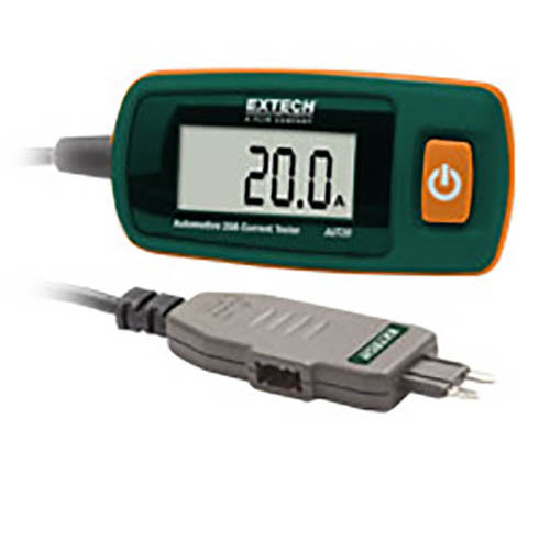 Extech AUT20M Automotive 20A Current Tester with Mini-Blade Connector