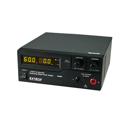 Extech Dcp60 Single Output Switching Dc Power Supply 60v