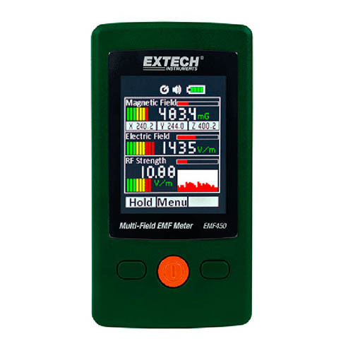 Click for larger image of the Extech EMF450 Multi-Field EMF Meter
