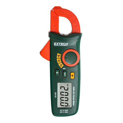 Mini Clamp Meters : Extech ma mini ac clamp meter a at the test