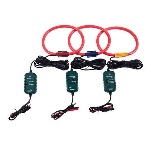 Flexible Current Clamp : Extech pq a current flexible clamp probes set of