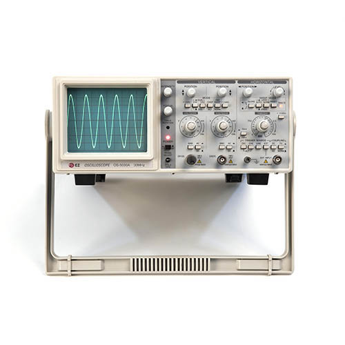 EZ Digital OS5030A 30 MHz 2-Channel Dual Trace Analog Oscilloscope