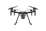 Flir 100-3001-01 DJI Matrice 200 Professional Quadcopter Drone Kit with Downward Gimbal Mount