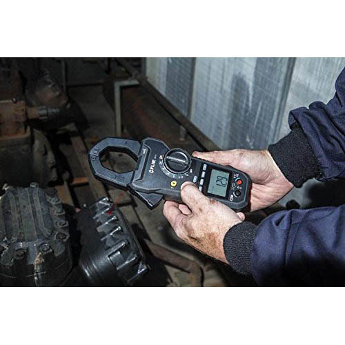 FLIR CM78 1000A True RMS Clamp Meter/Infrared (IR) Thermometer (In the Field)