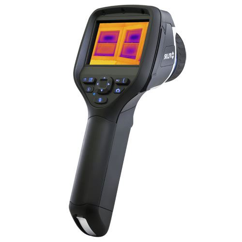 FLIR E40BX-KIT-15 Infrared Camera, MSX, FLIR Tools+, 15� Lens, 160 x120, -4 - 248�F Range, 60 Hz