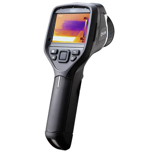 FLIR E50BX-NIST Infrared Camera, MSX, NIST, 240 x 180 IR Resolution, -4 - 248�F Range, 60 Hz