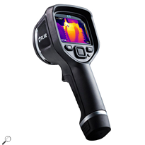 FLIR E8 Infrared Camera, MSX Enhancement, 320 x 240 IR Resolution, -4 - 482°F Range, 9 Hz Framerate