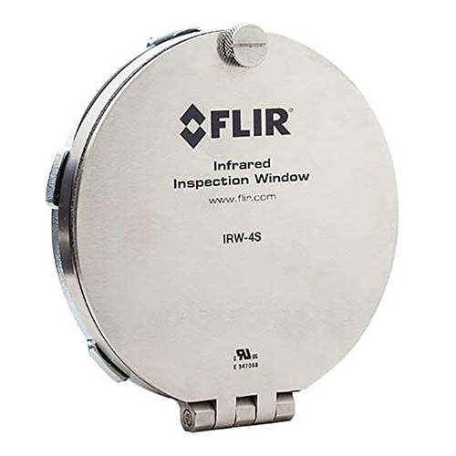 FLIR IRW-4S 4 in. Stainless Steel Infrared (IR) Inspection Window