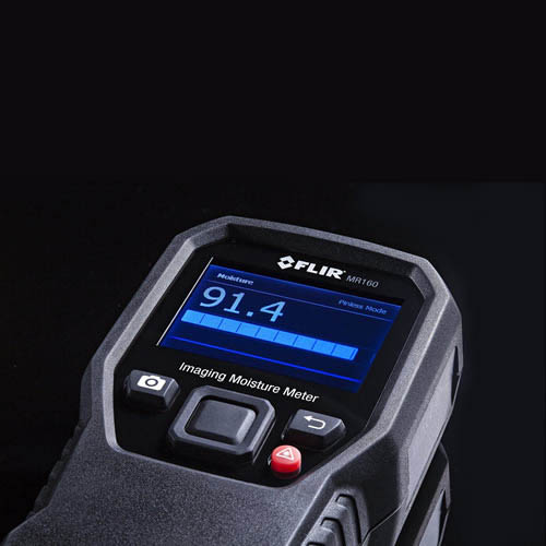 FLIR MR160 Imaging Moisture Meter, Infrared Guided Measurement (IGM) Technology (Flat)