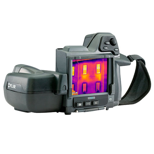 Flir T420BX Thermal Imaging Infrared Camera, 4X Continuous Zoom